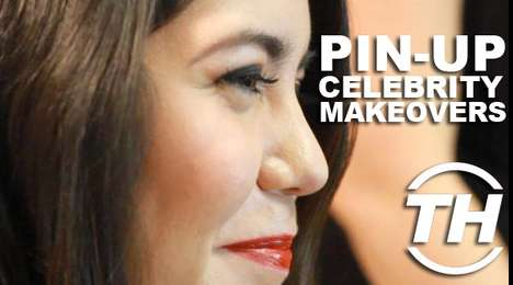 Pin-up Celebrity Makeovers