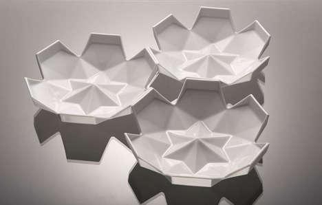 Geometrical Flower Dishware