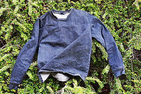 Reclaimed Denim Sweatshirts