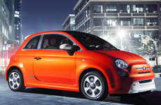 Electrified Italian City Cars - The Fiat 500e Makes It Fashionable to Plug-in