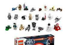 Sci-Fi Toy Christmas Countdowns - The LEGO Star Wars Advent Calendar is for Fanboys of All Ages