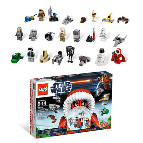 Sci-Fi Toy Christmas Countdowns