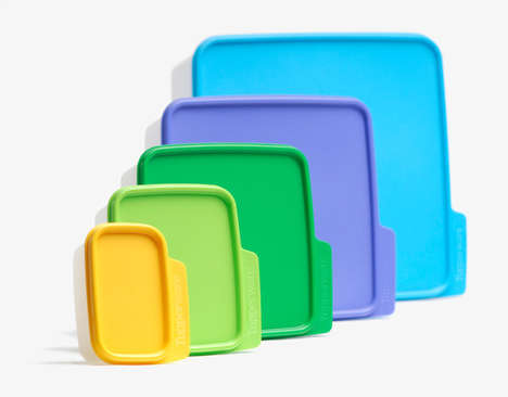 File Folder-Like Food Containers
