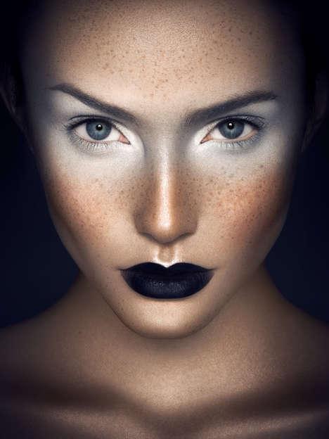 Monochromatic Makeup Portraits