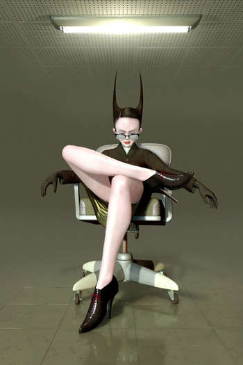 Eerie Digital Portraiture - Ray Caesar's Digital Paintings Mix Girls with 1940s Fashion