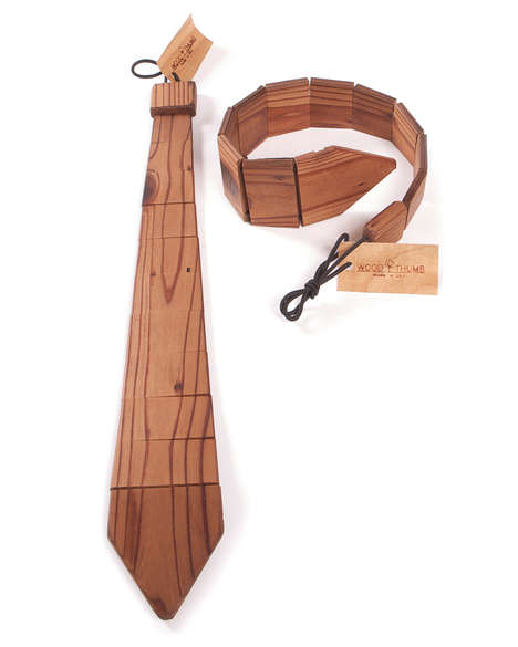 Wooden Neck Ties