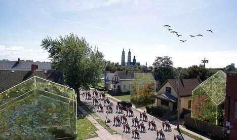 City-Revitalizing Garden Installations