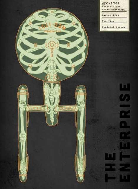 Skeletal Space Art