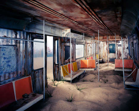 Apocalyptic Urban Dioramas (UPDATE) - The City by Lori Nix Has Added Dilapidated Scenes