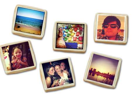 Social Media Snapshot Cookies - 'Baking for Good' Toasts Your Memories with Instagram Cookies