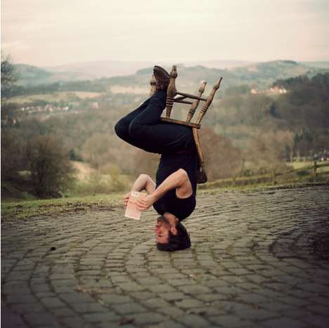 Upside Headstand Photographs