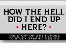 Infographic-Inspired Resumes - The Hire Me Infographic Promotes Artistic Talent and Experience