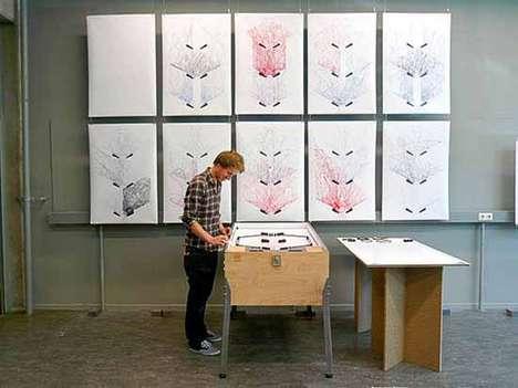 Pinball-Based Art Projects