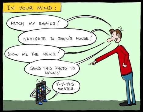 Comical Cellular Abuse Cartoons