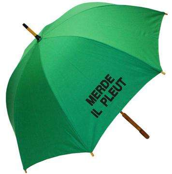 Cursing French Umbrellas