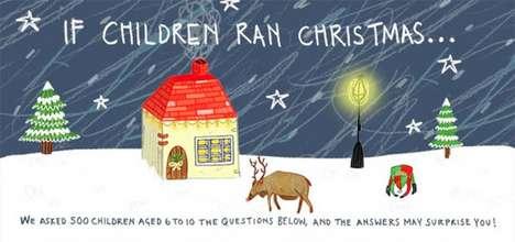 Kid-Centric Christmas Infographics
