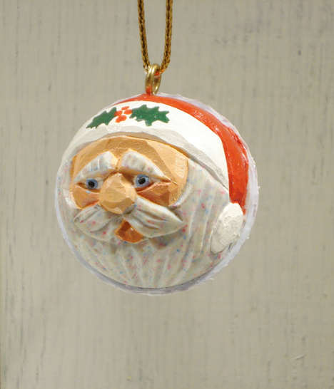 Salvaged Sports Sphere Ornaments