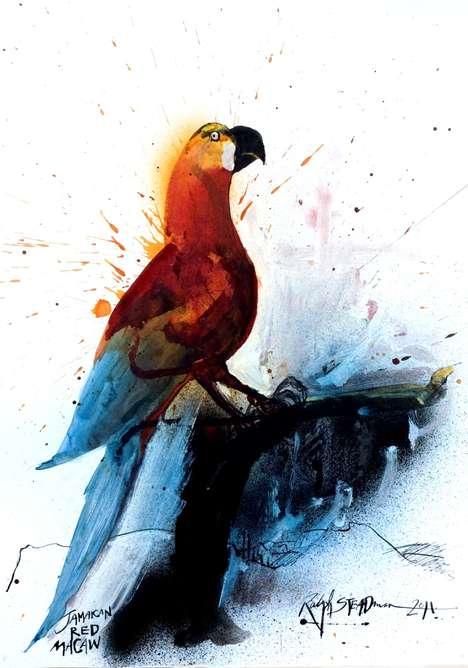 Enchanting Avian Portraits