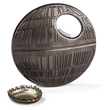 Sci-Fi Booze Poppers - The Death Star Bottle Opener Will be a Blast at Any Party