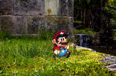 Suburban Video Game Realities - 'Super Mario Beads 3' Follows Mario Through the Neighbor