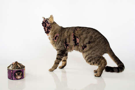 Grotesque Taxidermy Sculptures