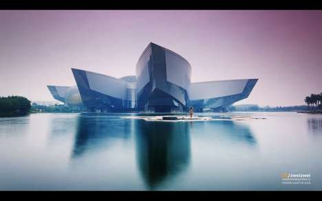 Hyper-Lapse Urban Videos - Zweizwei Creates an Artistic Video Showcasing China's Guangzhou City