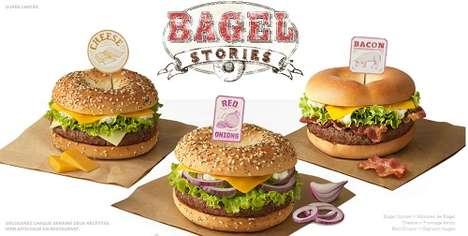 Breakfast-Inspired Hamburgers
