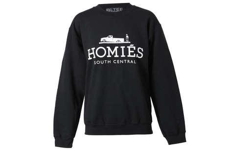 The Brian Lichtenberg 'Homies' Sweater Mimics the Hermes Logo