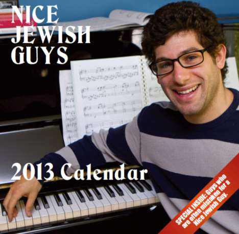 The Nice Jewish Guys Calendar Pays Tribute to the Good Guys