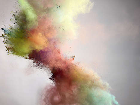 Explosive Cloud Photography