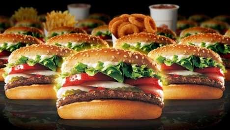 Fast Food Anniversary Buffets