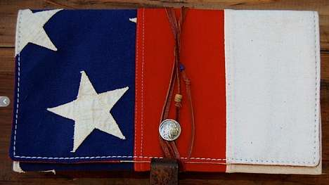 Repurposed Flag Purses