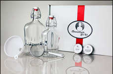 Boozy Bootlegging Kits - The Homemade Gin Kit is Perfect for Making Legal At-Home Libations