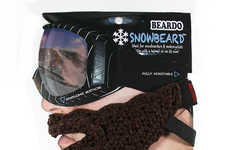 Bearded Face Warmers (UPDATE) - The Snowbeard Will Keep You Warm When Hitting the Slopes