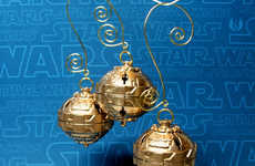 Death Star Christmas Orbs