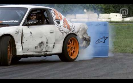 Dangerous Drifting Competitions - The Ultimate Game of Drift Flips the 'Horse' Concept