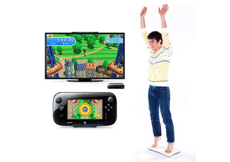 Intelligent Game Console Workouts - The Wii Fit U Features Advanced Monitors to Keep You On-Track