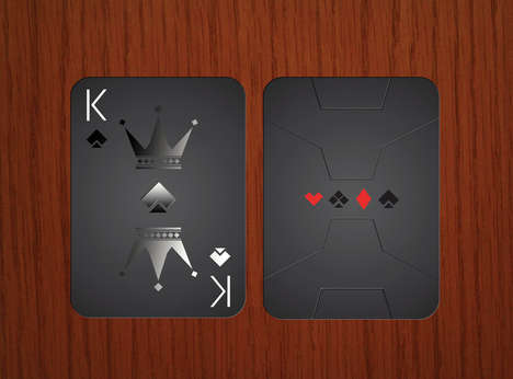 Bomber Jet Playing Cards