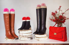 DIY Chic Footwear Accessories - The DIY Boot Stuffers Fashionably Stop Your Shoes From Falling Over