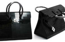Coveted Toy Brick Purses - The LEGO Birkin Bag is a Replica of the Beautiful Hermés Handbag