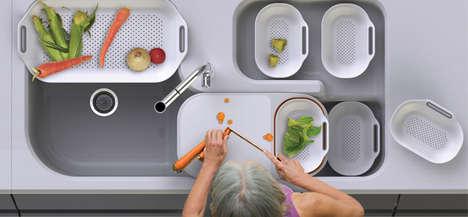 Sink-Centric Concept Kitchens