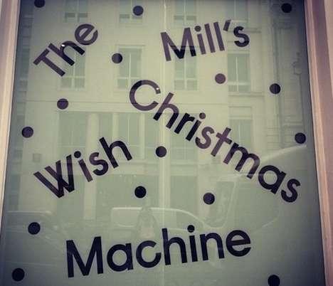 Interactive Holiday Charity Windows
