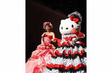 Cartoon Feline Nuptial Gowns - Hello Kitty Wedding Dresses Add a Dash of Cute to your Wedding Day