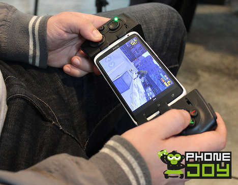 Mobile-to-Console Gaming Controls