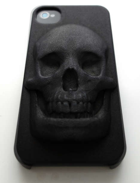 Creepy 3D Skull Cases