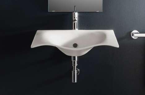 Droopy Bathroom Basins