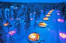 Luxurious Winter Pods - The Igloo Village at the Hotel Kakslauttanen Offers Up a Unique Experience