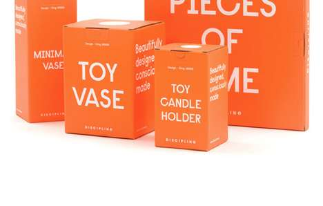Candidly Branded Cartons - Discipline Packaging Has Simple and Direct Descriptions of its Contents
