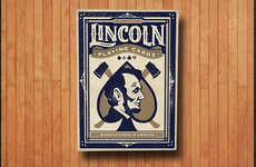 Presidential Playing Cards - The Abraham Lincoln Playing Cards are Playfully Patriotic