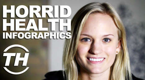 Horrid Health Infographics - Courtney Scharf's Health Infographics Interview is Deliciously Scary